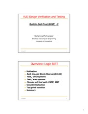 vlsi verification and testing