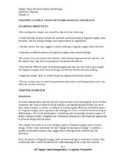 SolutionManual_SupplyChainMgmt_ALogisticsPerspective_9Ed_by_Coyle_Langley_Chapter12