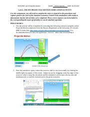 Ashley Quinlan - CRN 30714 - PHYS-PhET-Lab4-ProjectileMotion Simulation - 06-29-2017.docx