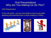 paper and oral presentation workshop spring2013