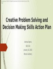 Creative Problem Solving and Decision Making Skills Action.pptx