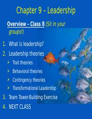 MGHB02 Class 8 - Leadership Slides.ppt