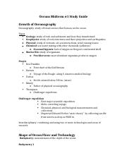 Oceans Midterm #1 study guide.docx