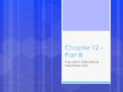 Ch. 12 (Part 3) Lecture PowerPoint