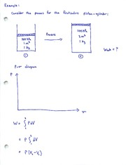 Example Problem_Boundary Work Calculations