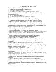 Anthropology 161 Study Guide.docx