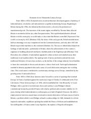 Romantic Art research paper.docx