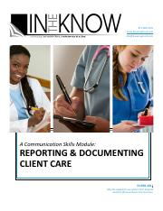 Reporting_Documenting_Client_Care