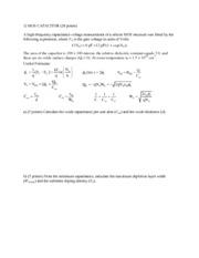 Example Final Exam