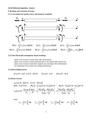 AE323 Mock Exam Equation Sheet