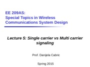 Lec5_Single carrier vs multi carrier signaling