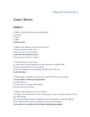 Biology 1201 Exam 2 Review
