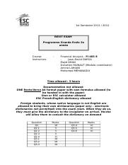 ExamenFI403E RESIT 2012 Answers.doc