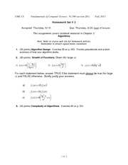Homework C on Graduate Fundamentals of Computer Science