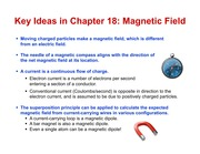 Lecture 13-Ch18.7-end-BofRodAndLoop-MagneticMoments.v2.0.ppt