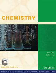Chemistry - John Green and Sadru Damji - Third Edition - IBID 2008