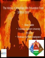 The History of American Fire Prevention.pptx