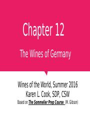 Chapter 12 Germany 071116