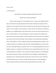 Third Paper_Plato v Vergil Final Entry