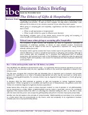 IBE (2012) The ethics of gifts and hospitality.pdf
