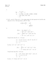Math 122 Test 1B Solutions