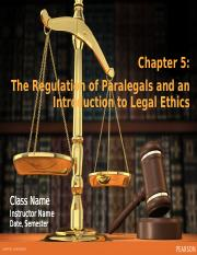 Ch 5 The Regulation of Paralegals (1)