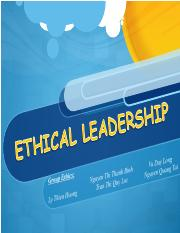 Ethical leadership.ppt