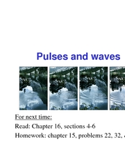 29 - Pulses & Waves