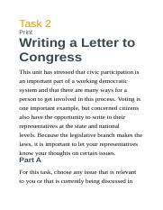 Writing a Letter to Congress.docx