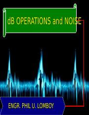 dB - Noise.ppt