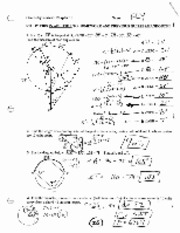 Chapter 10 Review Answers - a C Geometry Review Chapter 10 Name L