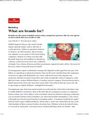 02b. What are brands for_ _ The Economist