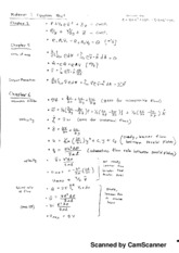 ME 347 Equation Sheet