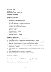 Mgt in Thailand Lecture_Zone_Ch.14