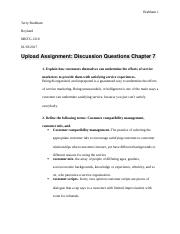 MKTG 1210 discussion questions chapter 7.docx