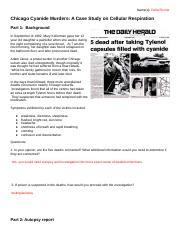 ChicagoCyanideMurders_AnswerKey.pdf - Chicago Cyanide ...