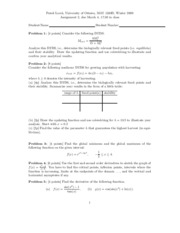 Calculus 1 - Assignment 2