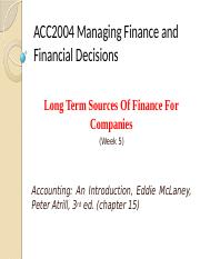 5-Long Term Sources Of Finance For Companies .pptx
