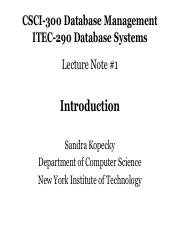 CSCI-300 Lecture 1