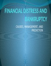 FINANCIAL DISTRESS AND BANKRUPTCY PPT notes.pptx