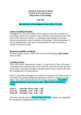 Syllabus Psyc 101 - 201 Fall  2015[1]
