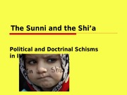 Sunni+Shia+rivalry