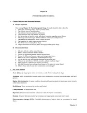 GNM Psycotherapeutic Drugs-Ch10 lecture notes