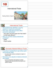 LECTURE 10 - 10_International_Trade - MIDTERM 1 (CHAPTER 9)
