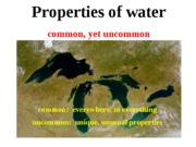 Lecture 1 Water Properties