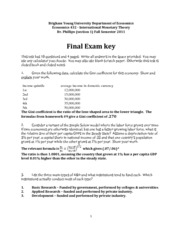fall 2011 final exam key