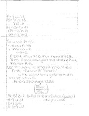 Math Logic proofs notes