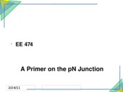 04 A Primer on the PN Junction