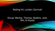 Notting hill, London Carnival (PERS)