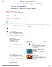 Mariah Carey - Never Too Far Lyrics _ MetroLyrics - Copy